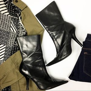 Steve Madden Pointed Toe Heeled Boots